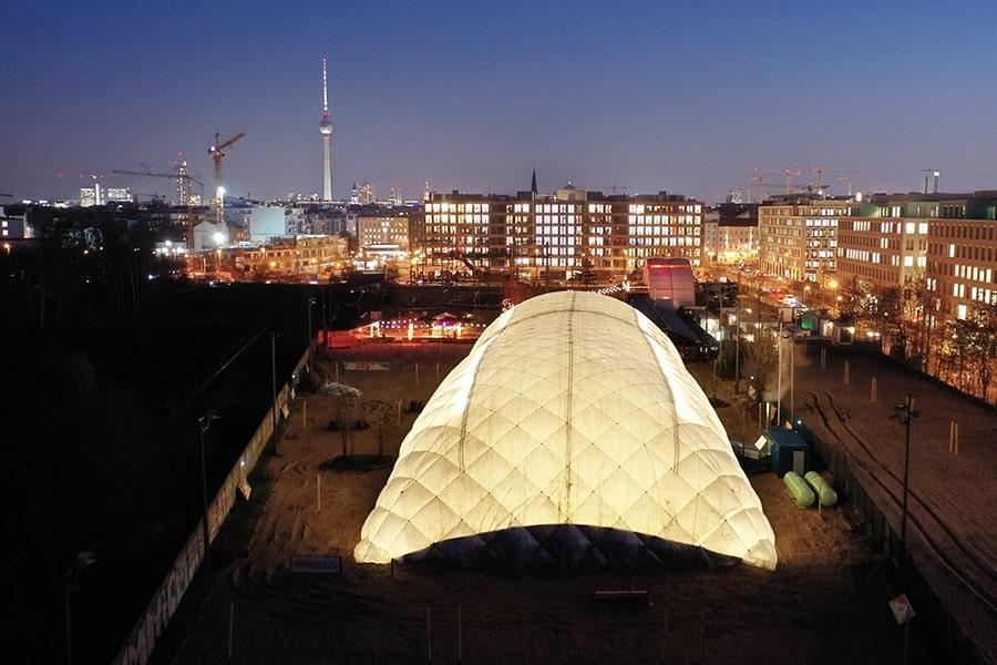 Bild Paranet Traglufthalle in Berlin
